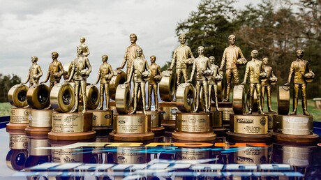 JEB Four Racing trophies