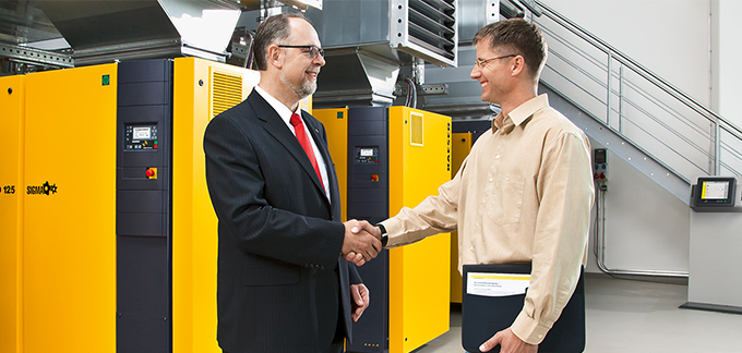 The compressed air specialist - Kaeser Compressors
